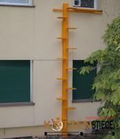 Indiv. Katzentreppe ab 3.4m bis 5.2m